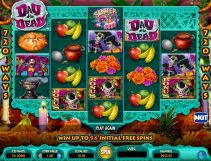 day of the dead slot screenshot 1
