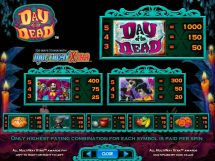 day of the dead slot screenshot 2