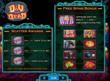 day of the dead slot screenshot 3