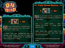 day of the dead slot screenshot 4