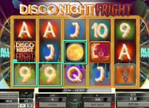 disco night fright slot screenshot 1