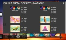 double buffalo spirit slot screenshot 2
