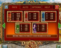 dragon born slot screenshot 2
