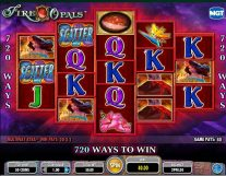 fire opals slot screenshot 1