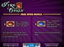 fire opals slot screenshot 4