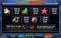fish party slot screenshot 4
