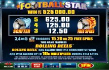 football star slot screenshot 3