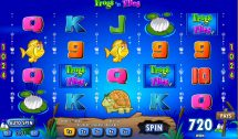 frogs n flies slot screenshot 1