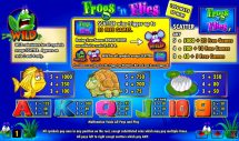 frogs n flies slot screenshot 2