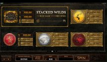 game of thrones slot screenshot 4