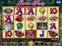 garden party slot screenshot 1
