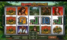 girls with guns jungle heat slot screenshot 1