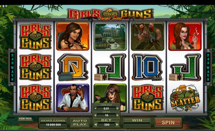 girls with guns jungle heat casino