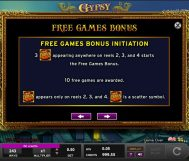 gypsy slot screenshot 2