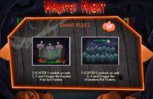 haunted night slot screenshot 2
