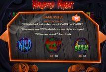haunted night slot screenshot 3