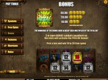 heavy metal warriors slot screenshot 4