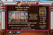 jukepot slot screenshot 2