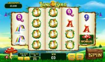 land of gold slot screenshot 1