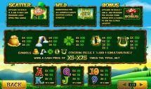 land of gold slot screenshot 2