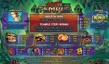 lost temple slot screenshot 2