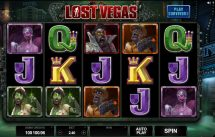 lost vegas slot screenshot 1