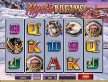 mystic dreams slot screenshot 1