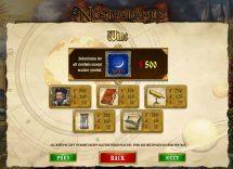 nostradamus slot screenshot 2