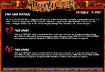 noughty crosses slot screenshot 4