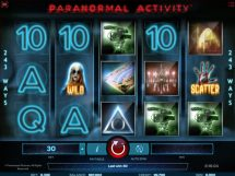 paranormal activity slot screenshot 1