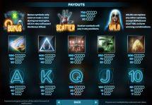 paranormal activity slot screenshot 2