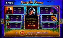 pumpkin power slot screenshot 2
