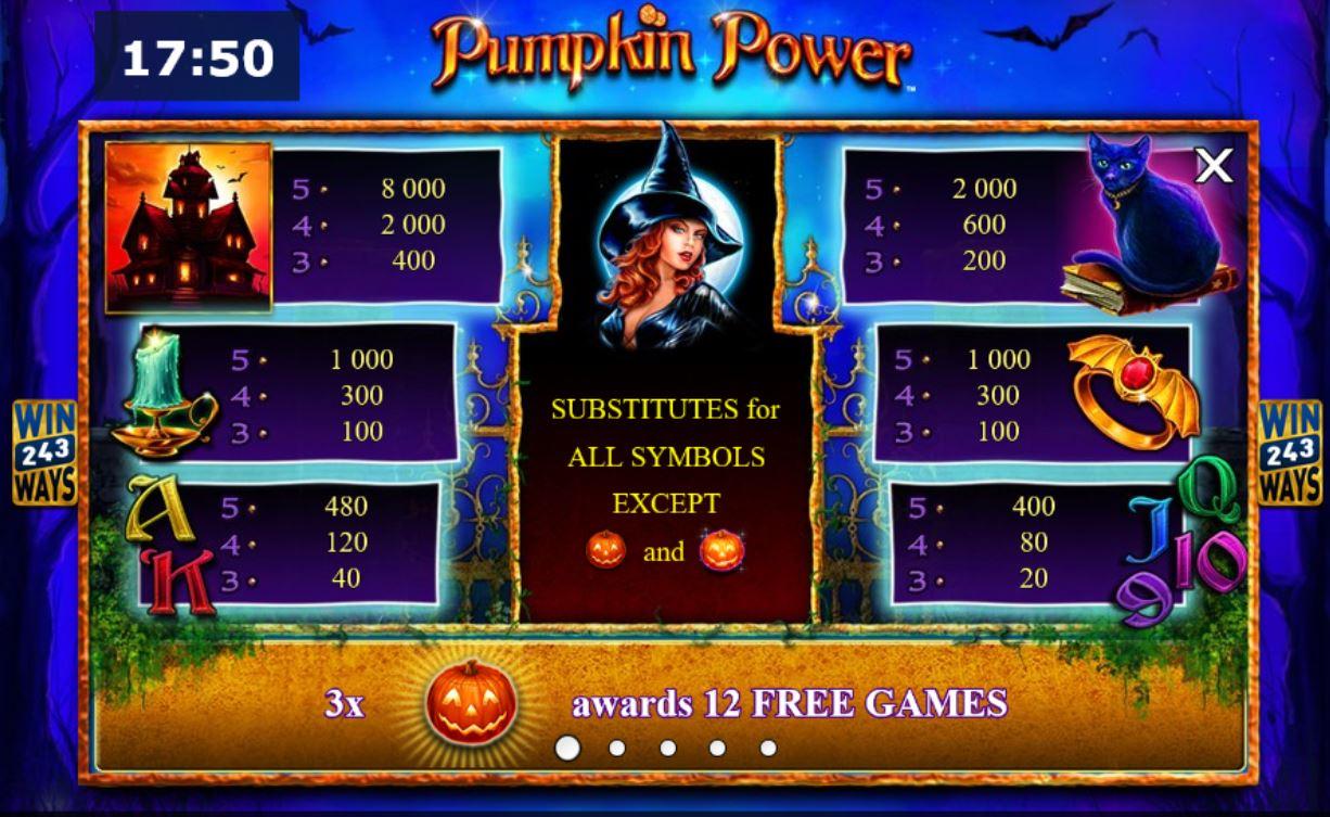 Spiele Pumpkin Power - Video Slots Online