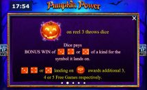 pumpkin power slot screenshot 3