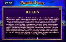 pumpkin power slot screenshot 4