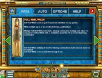queen of riches slot screenshot 3