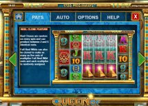 queen of riches slot screenshot 4