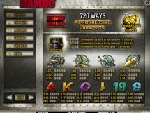 rambo slot screenshot 2