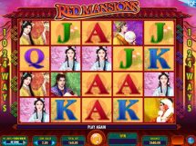 red mansions slot screenshot 1