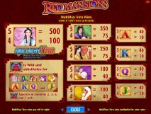 red mansions slot screenshot 2