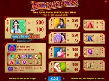 red mansions slot screenshot 4