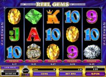 reel gems slot screenshot 1