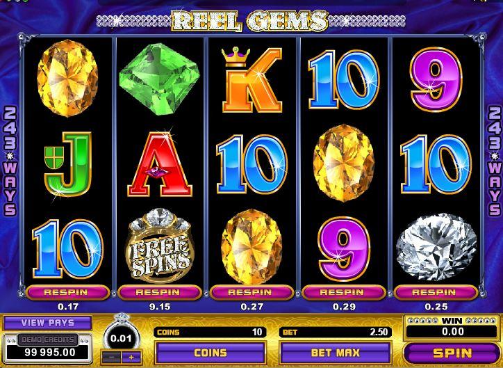 Free Slots Reel Gems