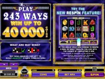 reel gems slot screenshot 3