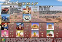 road trip slot screenshot 2
