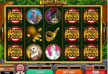 robin hood feathers of fortune slot screenshot 1