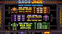 robojack slot screenshot 3
