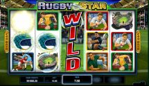 rugby star slot screenshot 1