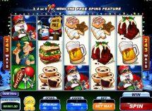 santas wild ride slot screenshot 1