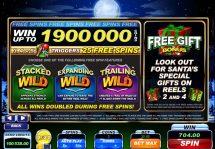 santas wild ride slot screenshot 2
